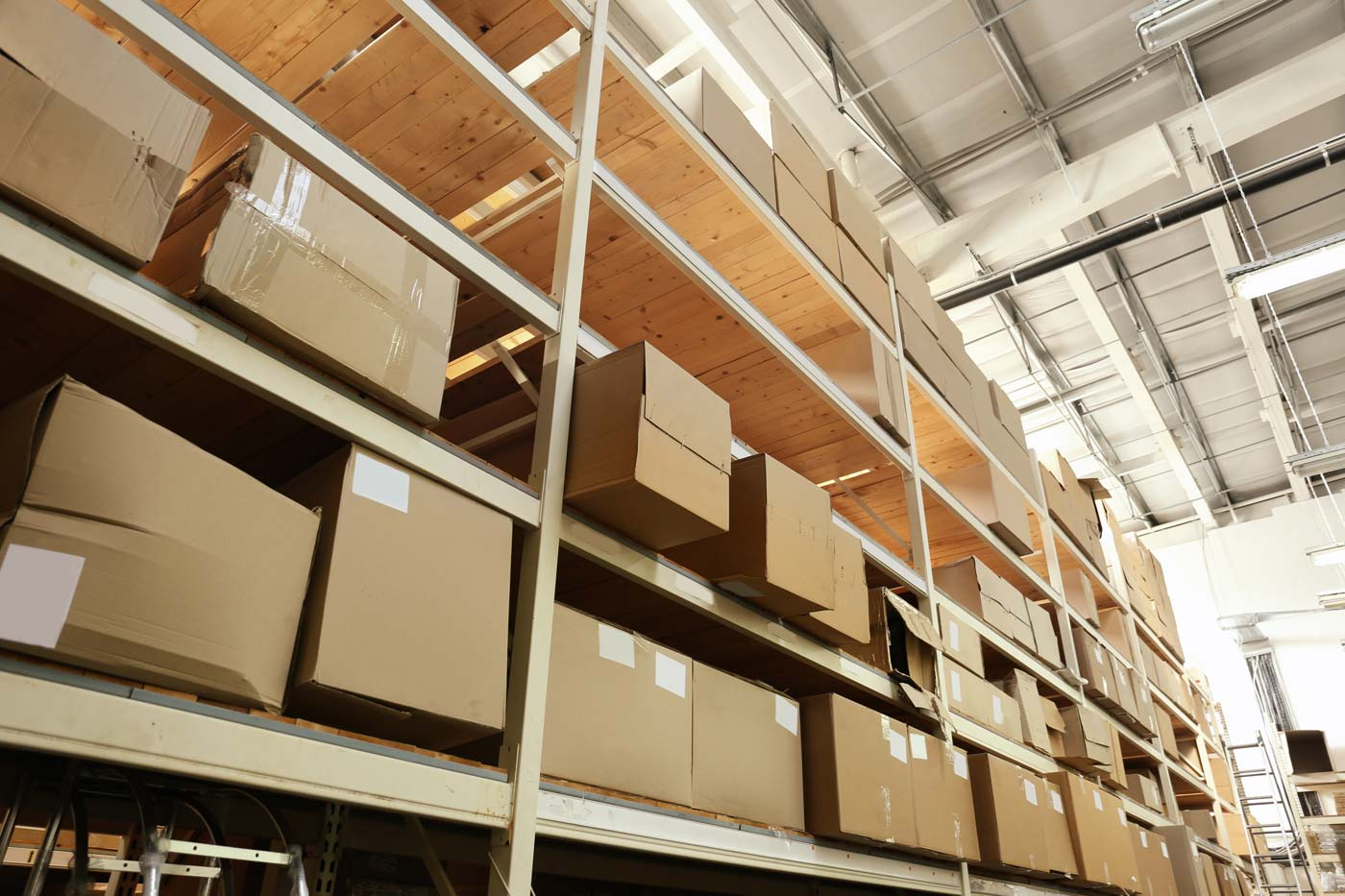 consumer product logistics warehouse